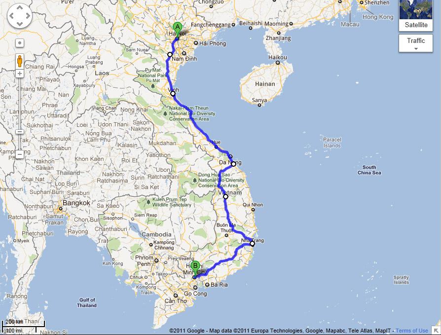 Vietnam Motorbike Adventure 2011 | Lynchy's Travel Blog