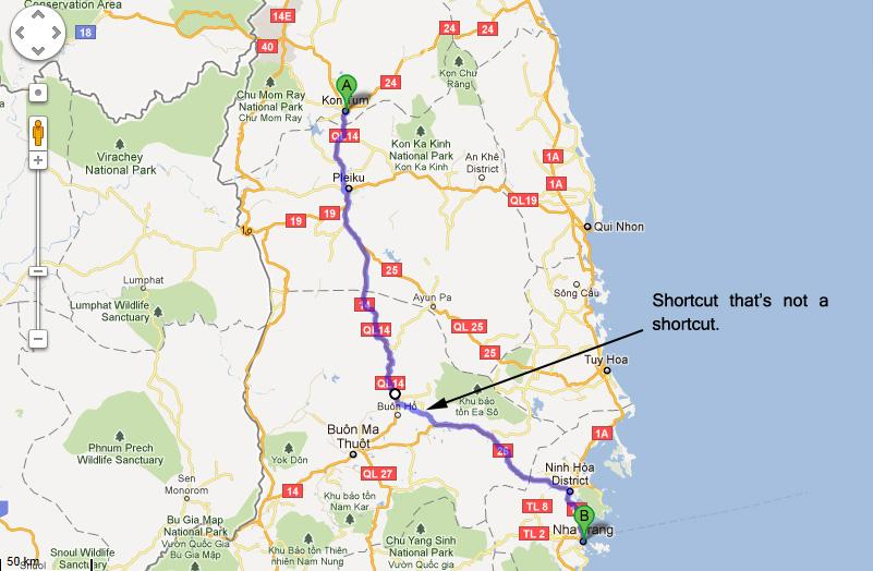 Kon Tum to Nha Trang