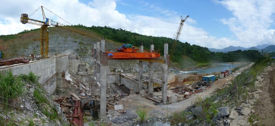 Hoi An Dam Construction