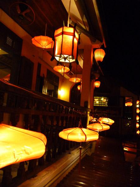 Vuon Hai San Seafood Garden Lanterns