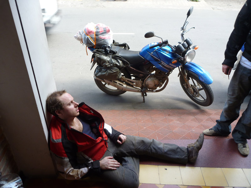 Exhaustion in HCMC
