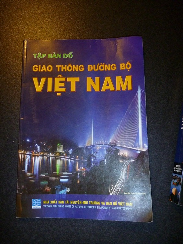 Vietnam Road Maps Book