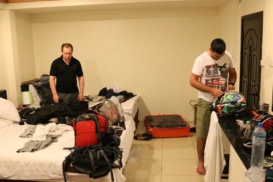 Repacking the bags