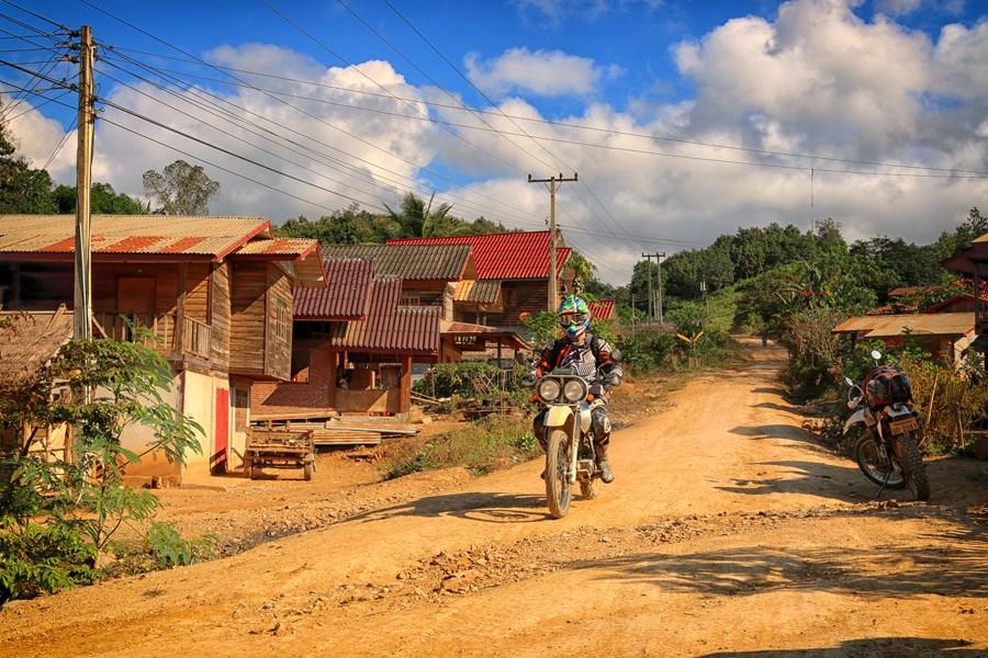 Colourful villages
