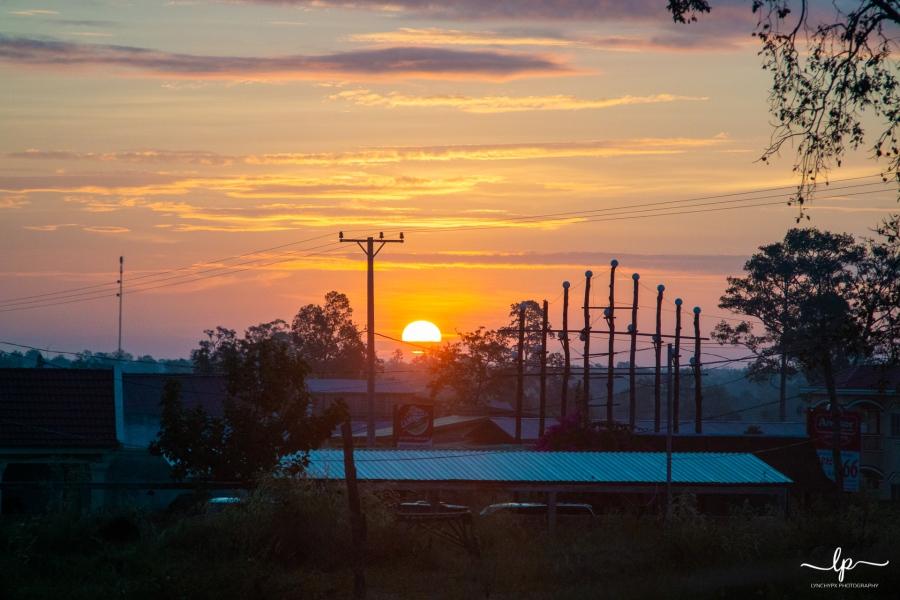 Cambodia Sunrise