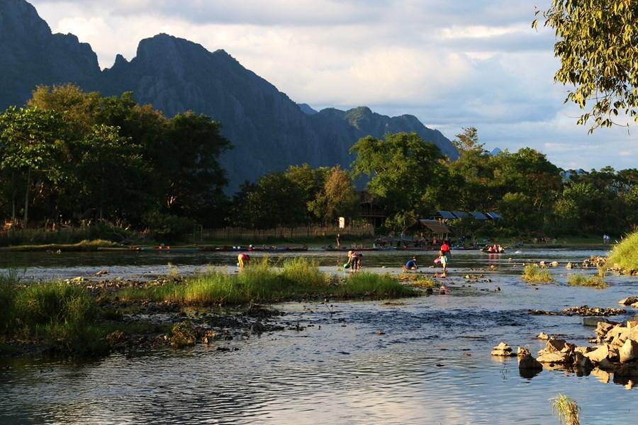 Vang Vieng River