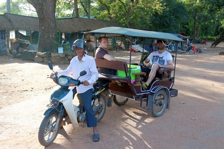 Our tuk tuk driver