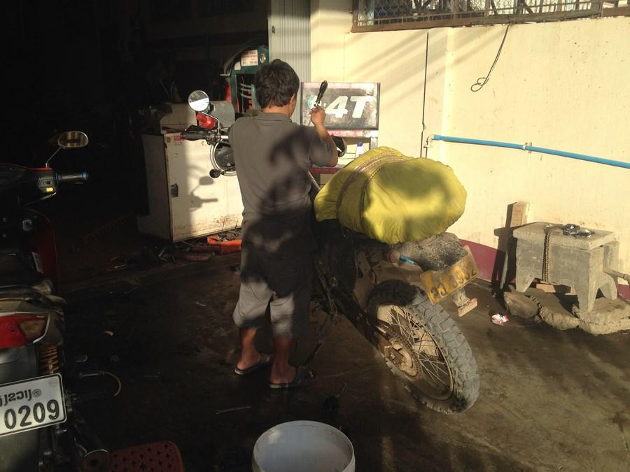 Repairing my brake booster